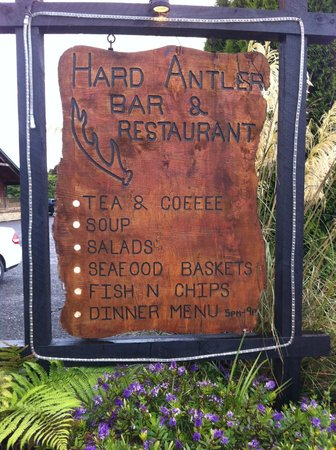Hard Antler Bar & : Sign Board
