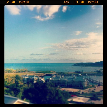 Peppers Airlie Beach: view from the room