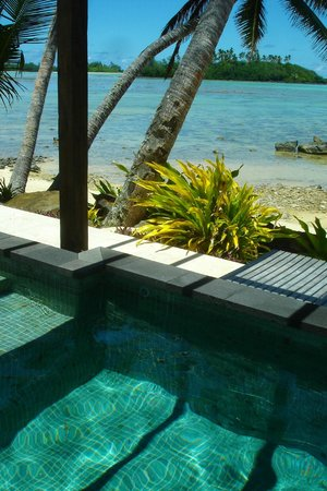Te Manava Luxury Villas & Spa: View from our plunge pool