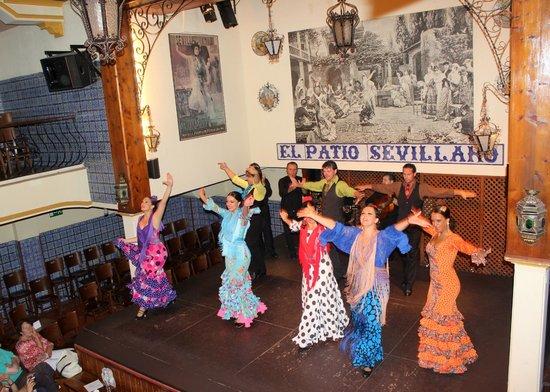 Flamenco Picture Of El Patio Sevillano Seville Tripadvisor