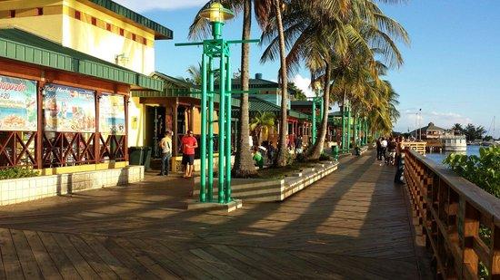La Guancha : The boardwalk at Gauncha