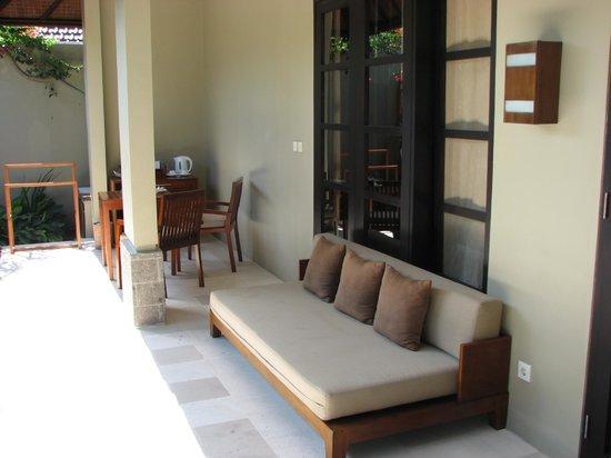 Uma Sapna: Could you relax here?