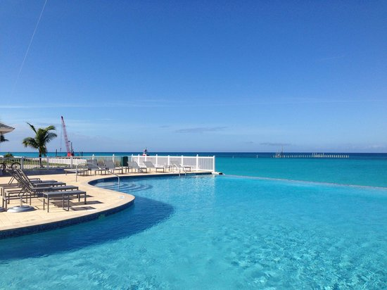 Resorts World Bimini: Infinity pool , me encantó!