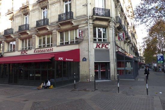 Kfc on st denis picture of kfc paris tripadvisor - Lidl strasbourg saint denis ...