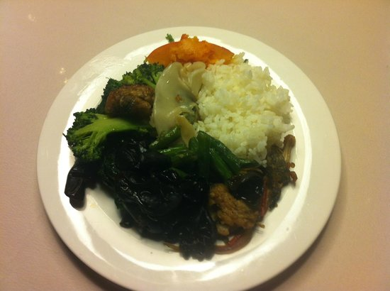 Dazhong Airport Hotel : Dinner Buffet