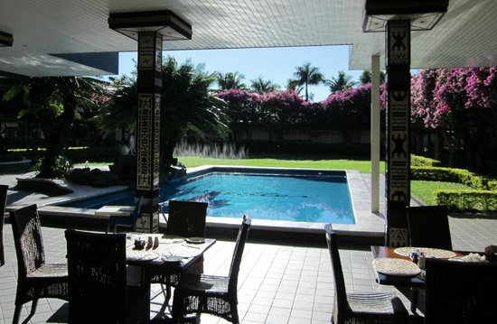 Fiji Gateway Hotel: View from dinning area