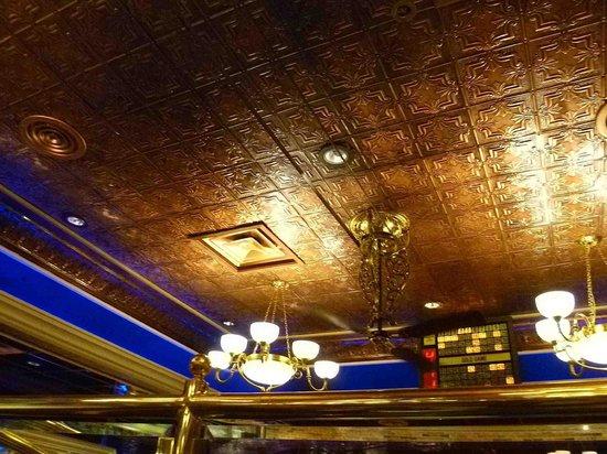 Nugget Casino Resort: Rosie's ceiling, a la 1800s