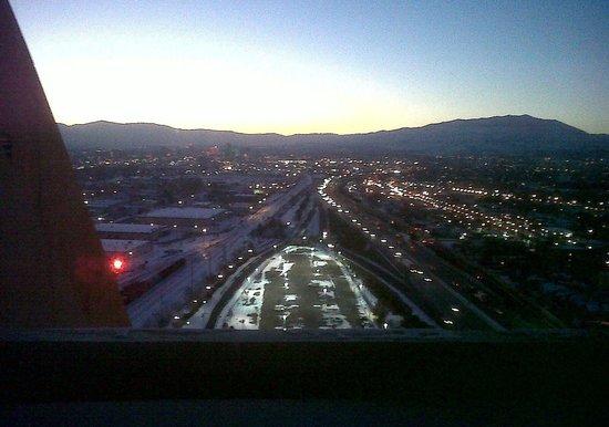 Nugget Casino Resort: Sunset view west