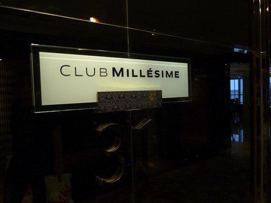 Sofitel Bangkok Sukhumvit: Club Millesime