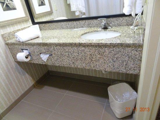Comfort Suites Sawgrass : Lavatório
