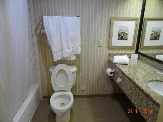 Comfort Suites Sawgrass: Banheiro