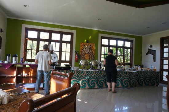 Arusha Planet Lodge : Breakfast Buffet