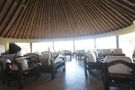 Tarangire Safari Lodge: Lounge area