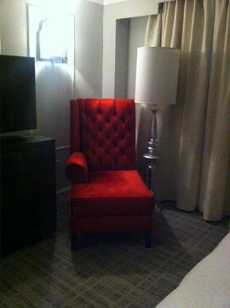 The Graham Washington DC Georgetown, Tapestry Collection by Hilton : BR area lounge chair (comfy!)