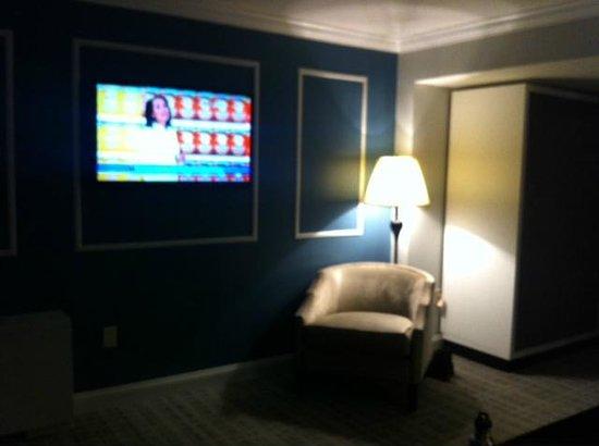 The Graham Georgetown: LR area flat screen TV