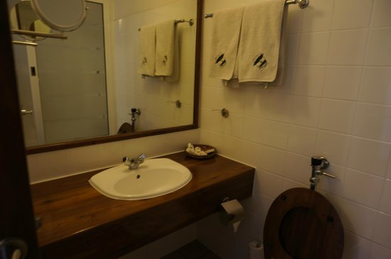 Ngorongoro Wildlife Lodge : Bathroom...small...