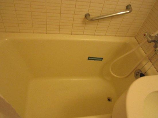 Shinjuku Washington Hotel Main: clean and small bathroom