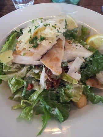 Fish Frenzy: Blue Eye Trevella & Caesar Salad