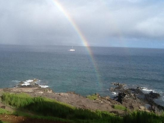 The Kapalua Villas, Maui: view from our bedroom