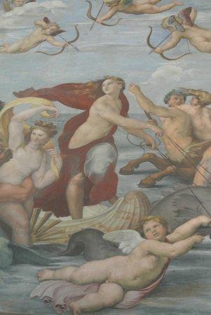 Villa Farnesina: affresco di Raffaello