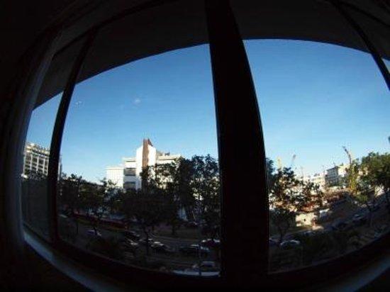 Hotel Shangri-La Kota Kinabalu: 窓