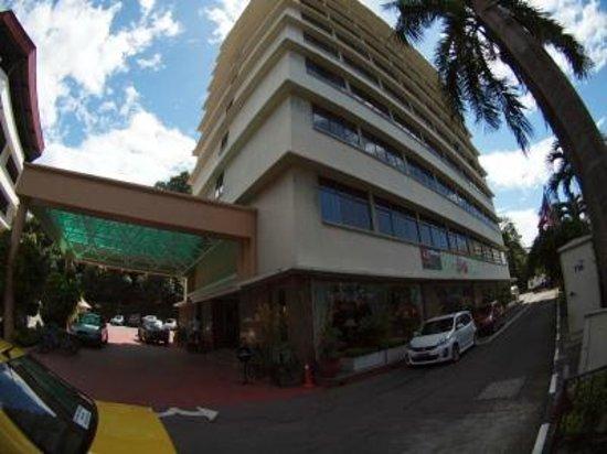 Hotel Shangri-La Kota Kinabalu: 外観