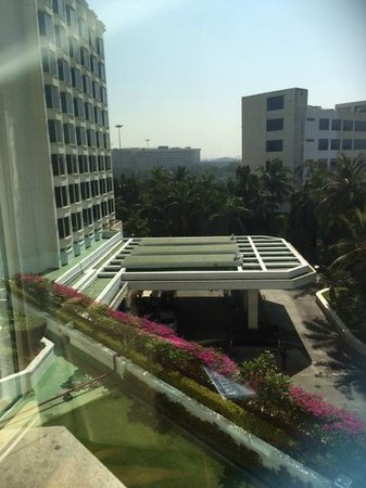The Leela Mumbai : View from Room for entrance