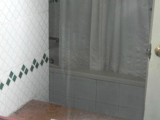 Kings Kourt Hotel: Average Bathroom
