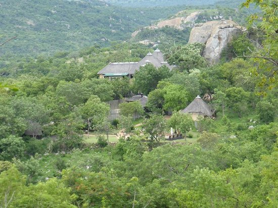 Bongani Mountain Lodge: arrivée