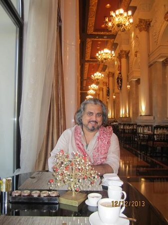 Jumeirah Zabeel Saray: breakfast at the Imperium