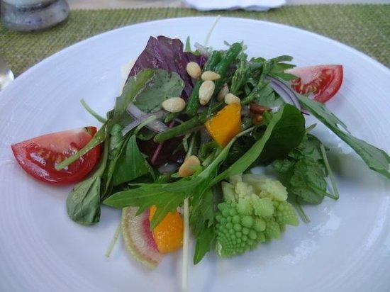 Arancino di Mare: salada