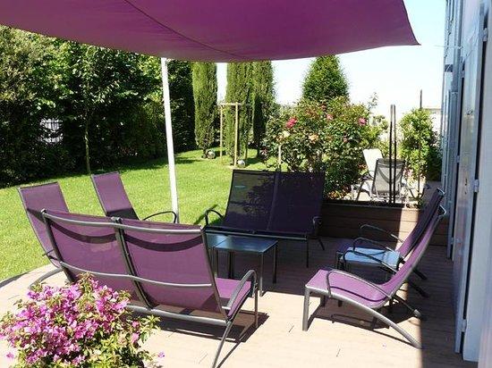 La Villa Cecile : Terrasse