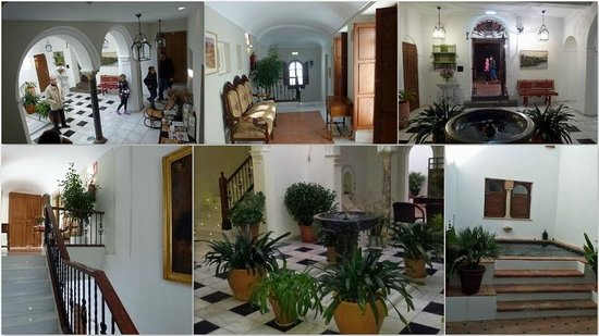 Apartamentos Turisticos Alberca: Collage of Patio and Common Areas