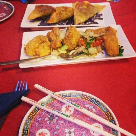 Paramount Chinese Restaurant: Gorgeous starter!!