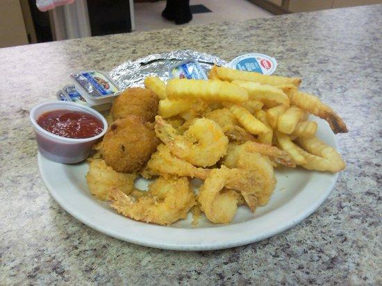 Ball & Que: Shrimp Platter