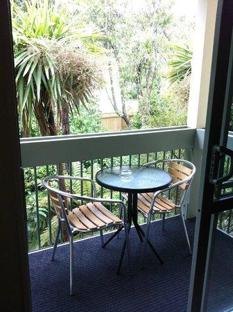 La Rochelle Motel: Balcony