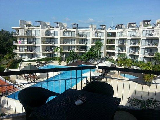 Dewa Phuket Resort Nai Yang Beach: Pool at family terrace