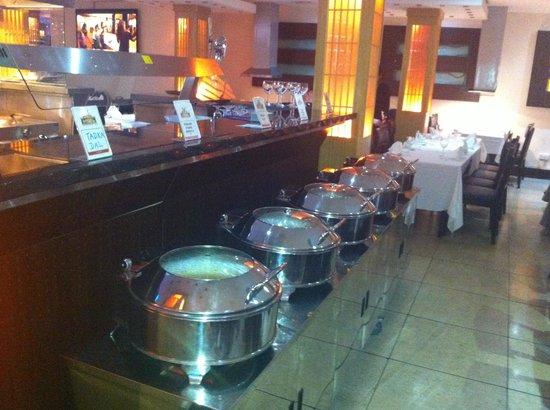 Bollywood Brasserie: Mains