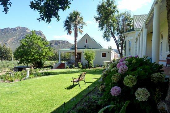 Montagu Vines Guesthouse: Vue du jardin