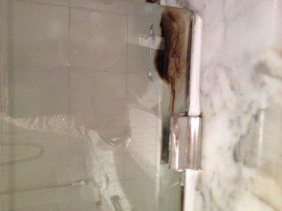 Hotel Rex: Vetro doccia/vasca