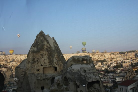 Goreme Ascension Cave Suites : morning view