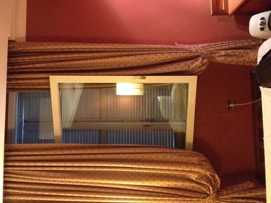 Hotel Rex: Le tende....sporchissime