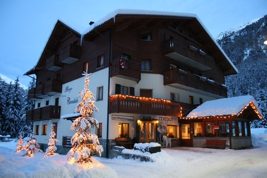Hotel Cevedale: INVERNO