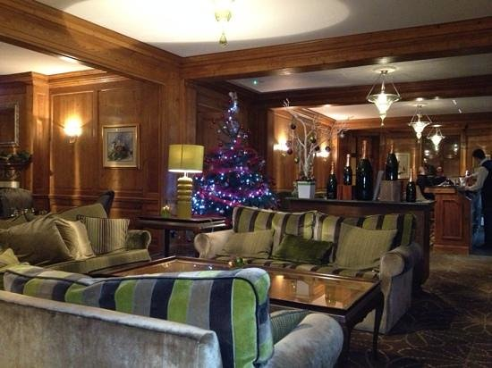 Bar area of Royal Berkshire Hotel