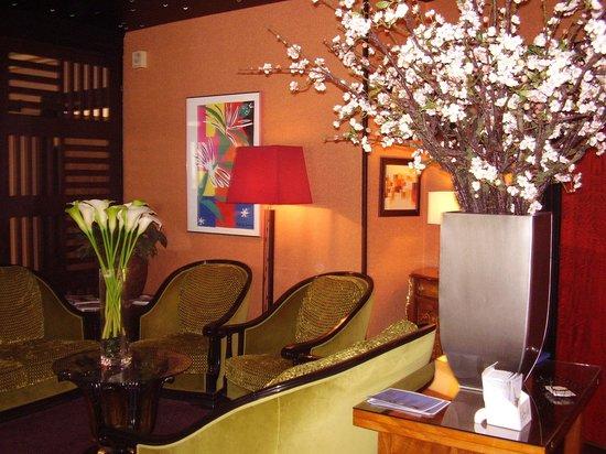Hotel Du Trosy : accueil