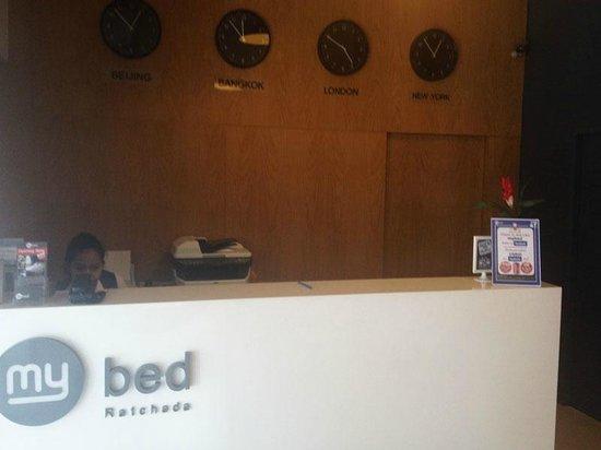 My Bed Ratchada Hotel: Lobby
