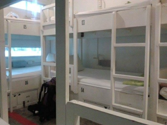 HQ Hostel Silom: 10-bed room