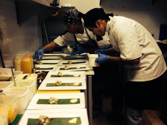 Momo: Seabas ceviche José and ryan