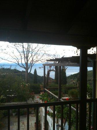 Vateri Guest House: Vista del mare