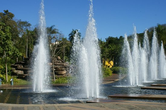 Aguas de Sao Pedro, SP: Fonte das Águas Dia